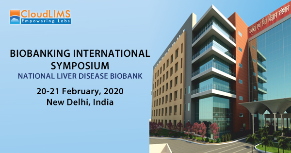 CloudLIMS at Biobanking International Symposium 2020