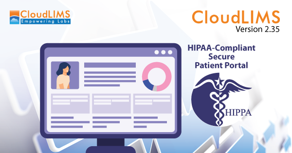 Cloud-based Secure Patient Portal for COVID-19 Diagnostic Results