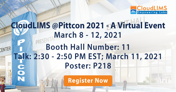 CloudLIMS at Pittcon 2021