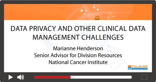 Webinar on clinical data management challenges