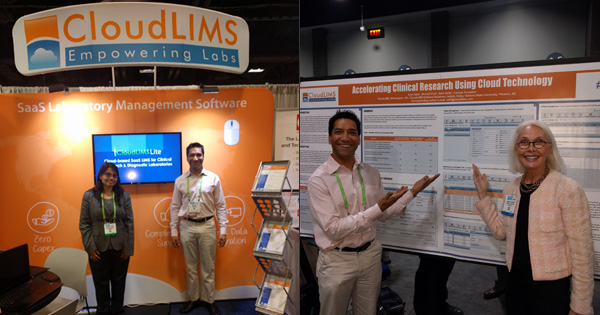 CloudLIMS participated in AACR 2017