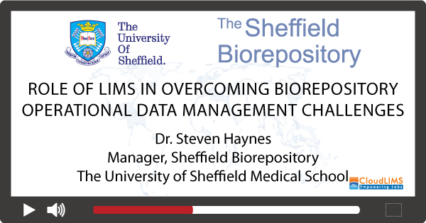 Webinar on Biorepository Operational Data Management Challenges