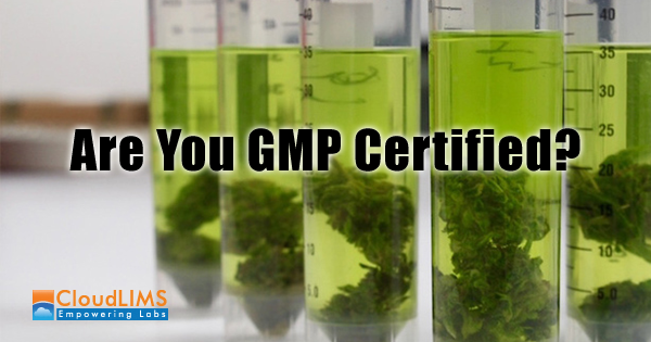 LIMS for GMP compliance in cannabis testing labs